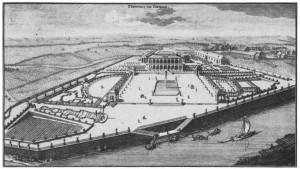 Übigau 1721, aus: Boetius, Christian Friedrich - 5000 Historische Stadtansichten aus Deutschland.